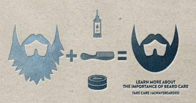 beard care tips card