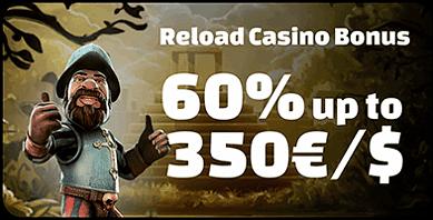 60% Reload Bonus