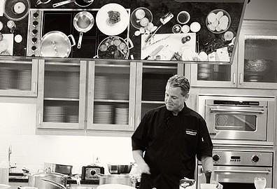 Chef Richard Chamberlain - cooking demonstration.