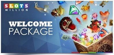 SlotsMillion Casino Welcome Bonus On Deposit