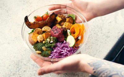 Easy peasy not-so-boring Salad