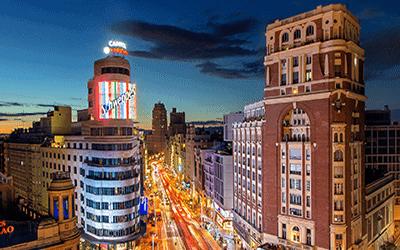 Continúa el crecimiento de PIB en Madrid en los próximos años