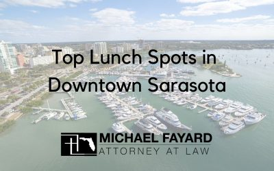 Top Lunch Spots in Downtown Sarasota