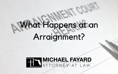 What Happens at an Arraignment?