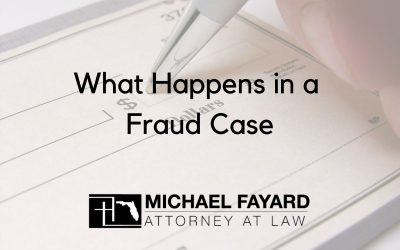 What Happens in a Fraud Case