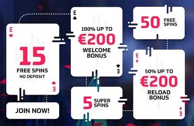 EnergyCasino welcome bonus