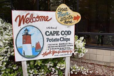Take a tour of cape cod potato chips
