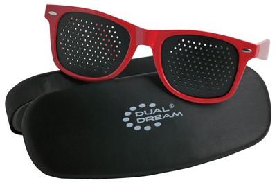 Occhiali stenopeici Dual Dream con custodia