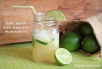 The BEST Margarita Recipe via Amy Locurto @ LivingLocurto.com #recipe