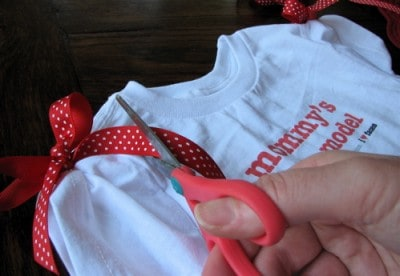 No Sew T-Shirt Craft