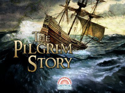 pilgrim story course cover from Dayspring Christian Academy online
