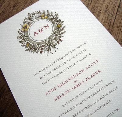 Free Wedding Invitation and Shower Printables