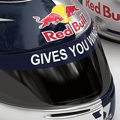 1865 Sebastian Vettel F1 Helmet