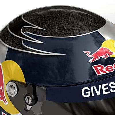 1866 Sebastian Vettel F1 Helmet