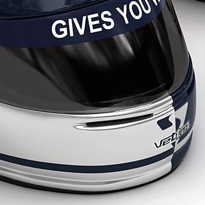 1868 Sebastian Vettel F1 Helmet
