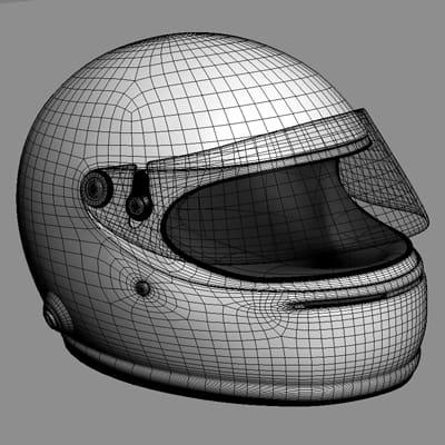 1869 Sebastian Vettel F1 Helmet