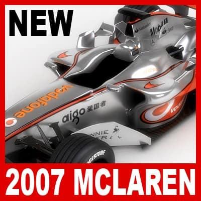 750 2007 F1 Vodafone McLaren MP4 22