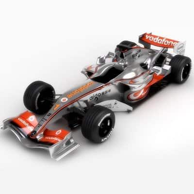 751 2007 F1 Vodafone McLaren MP4 22