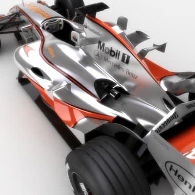 761 2007 F1 Vodafone McLaren MP4 22