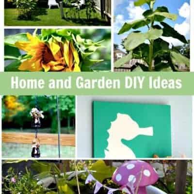 Home and Garden DIY Ideas {Living Creative Thursday}