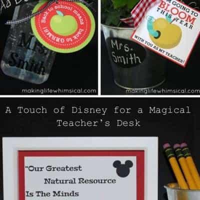 Free Printable Teacher Gift Ideas {Living Creative Thursday}