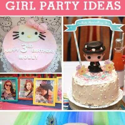 5 DIY Girl Birthday Party Ideas  {Living Creative Thursday}