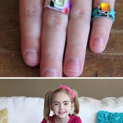 How to Make Duct Tape Rings | Kids Craft