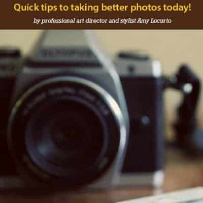 3 Simple Photography Styling Tips
