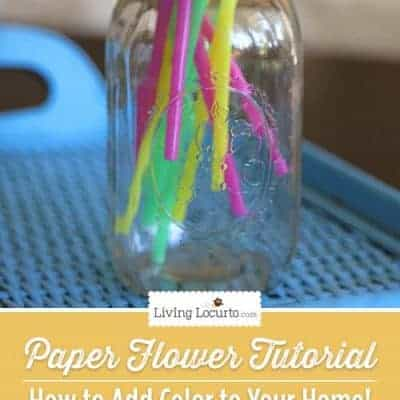Paper Flower Craft – How to Add Color to Your Home!