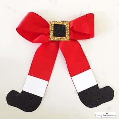 How to Make a Santa Bow