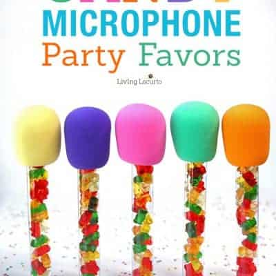 Candy Microphones and Easter Basket Ideas