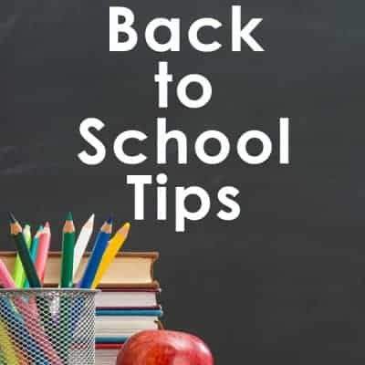 4 Simple Back to School Tips Every Parent Should Know