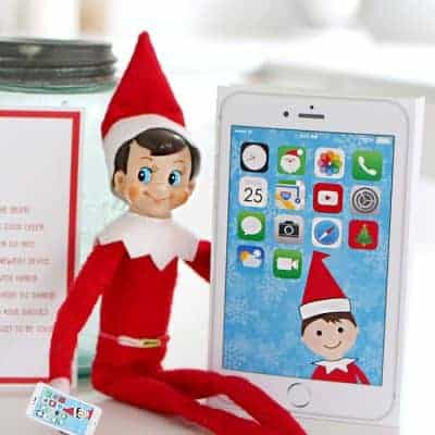 Elf Phone Printable