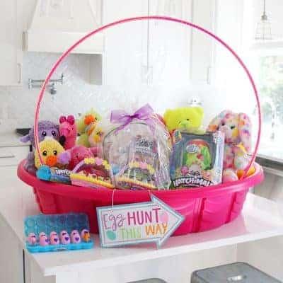 Giant Easter Basket Craft