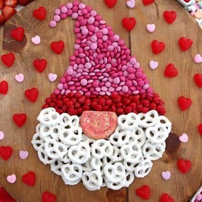 Valentine Gnome Dessert Board
