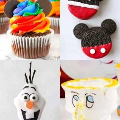 20 Darling Disney Themed Desserts