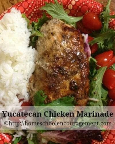 Yucatecan Chicken Marinade
