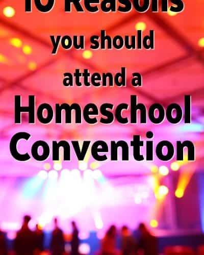 10 Reasons you should attend a homeschool convention. Homeschool Conferences Rock!