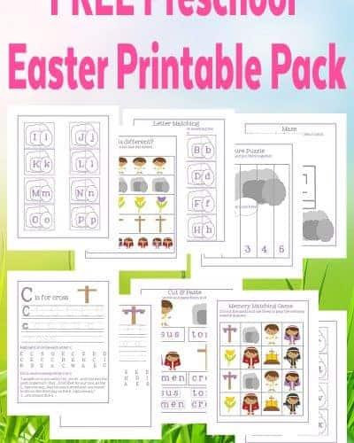 PreK Easter Printable Pack copy