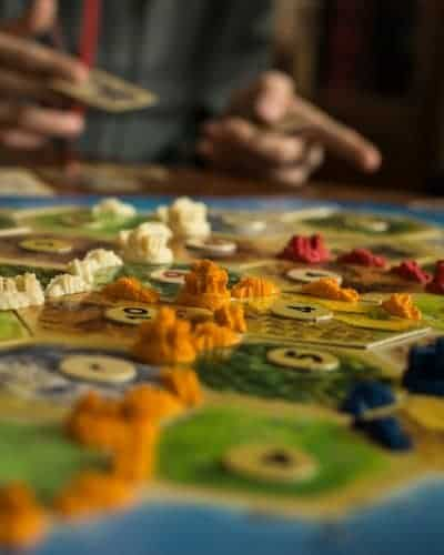 strategy board game for family game night