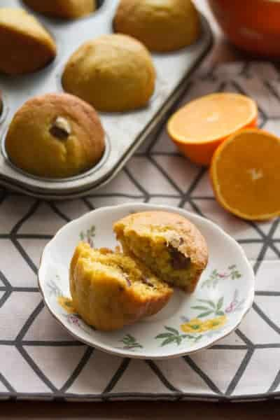 Fresh Orange-Date Muffins