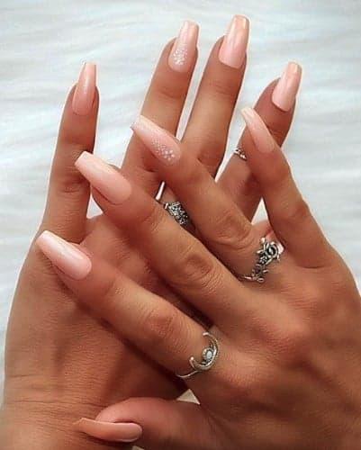 trendy Long press on nails