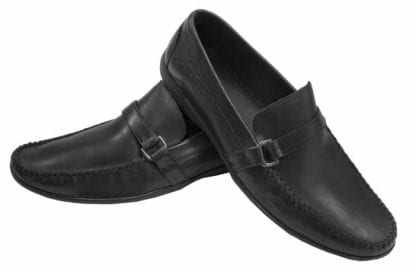 Bostonian Leather Slip on Shoe Driver Shoes with Buckle