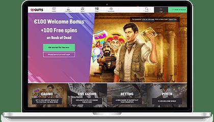 Guts Casino Mobile App