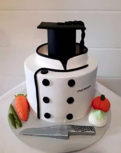 chef Graduation cake ideas
