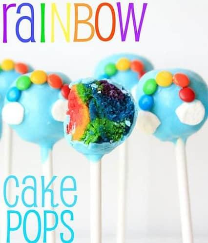 Rainbow Cake Pops by Munchkin Munchies | St. Patricks Day Fun Food Idea | Living Locurto