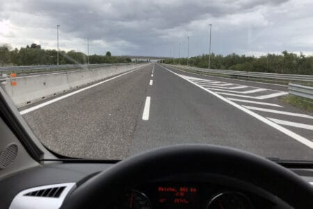 Freie Autobahn