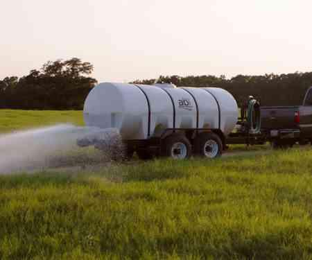 1600 Gallon D.O.T. Water Trailer