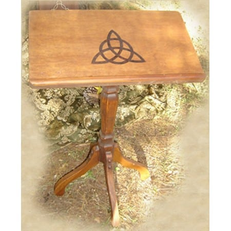 Triquetra Wooden Book Stand