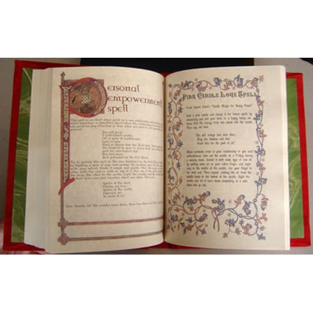 Love Magic Book of Spells